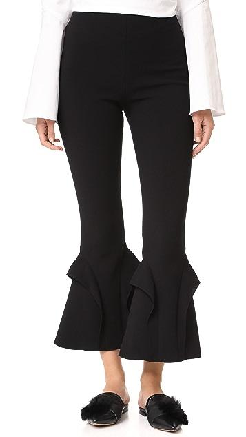 Nicholas N/Nicholas Double Frill Pants