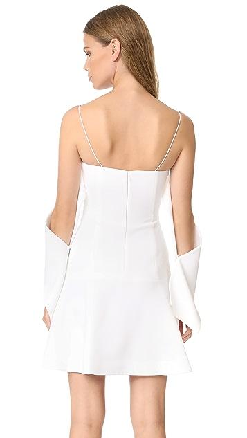 Nicholas N/Nicholas Flounce Mini Dress