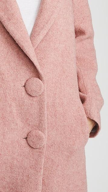 Nicholas Long Double Button Coat