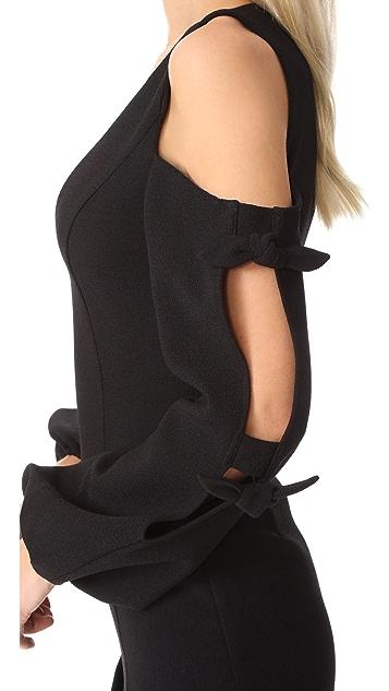 Nicholas N/Nicholas Knit Sleeve Mini Dress