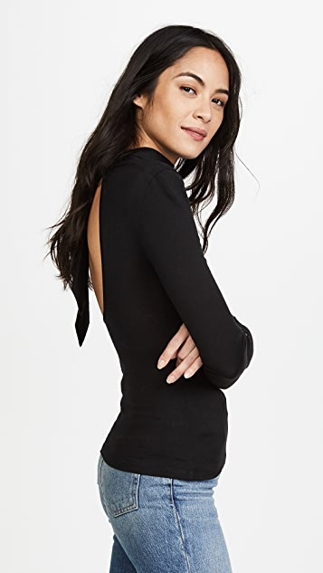 Nicholas Babywool Backless Top