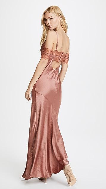 Nicholas Satin Bias Slip Dress