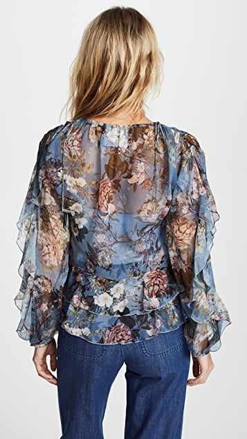 Nicholas Gathered Blouse