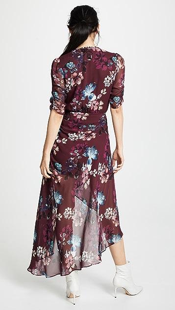 Nicholas Платье с драпировкой и запахом