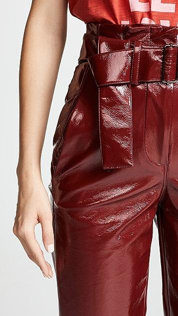Nicholas Crinkle PVC Trousers