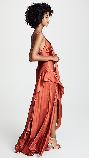 3ce1cda9289 ... Nicholas Tie Front Maxi Dress ...