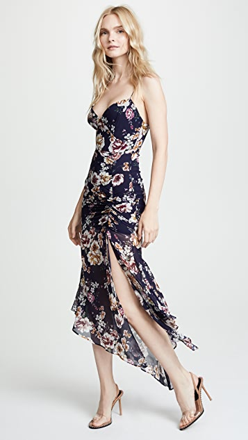 Nicholas Floral Drawstring Dress