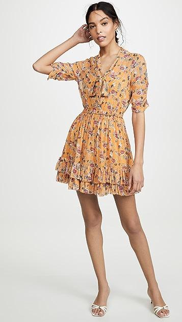 Nicholas Мини-платье с оборками