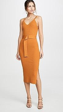 Knit Triangle Top Dress