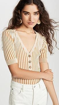 Knit Henley Top