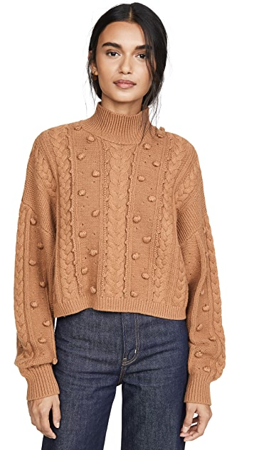 Nicholas Crop Cozy Sweater