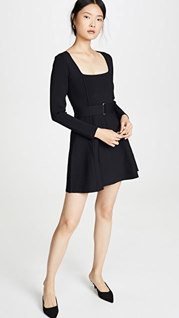 Nicholas Long Sleeve Skater Dress
