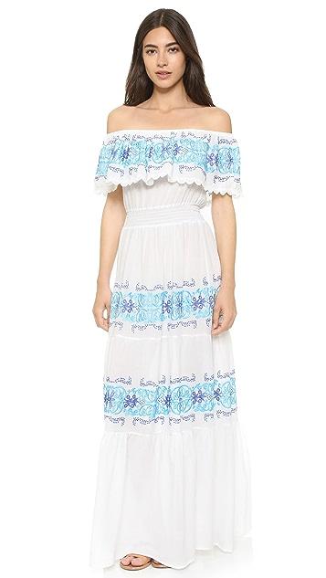 Nightcap x Carisa Rene Greek Isle Maxi Dress