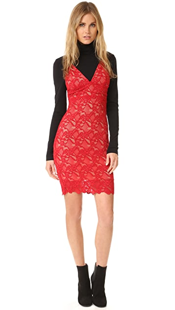 Nightcap x Carisa Rene Classic Lace Slip Dress