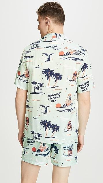 NIKBEN Big Kahuna Button Up Shirt