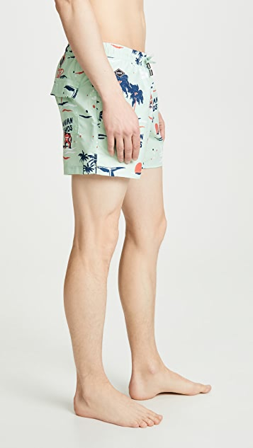 NIKBEN Big Hahuna Swim Trunks