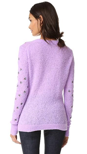 Nina Ricci Long Sleeve Knit Pullover
