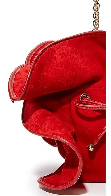 Nina Ricci Mini Lilly Suede Bag