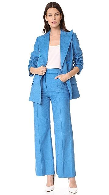 Nina Ricci Velvet Rib Trousers