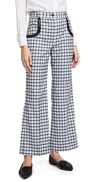 Nina Ricci Cropped Flare Pants