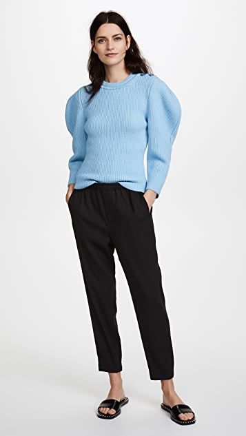 Nina Ricci Shoulder Detail Sweater