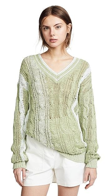 Nina Ricci V Neck Sweater