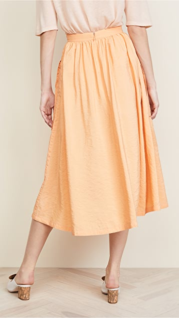 Nina Ricci Parachute Skirt with Pockets