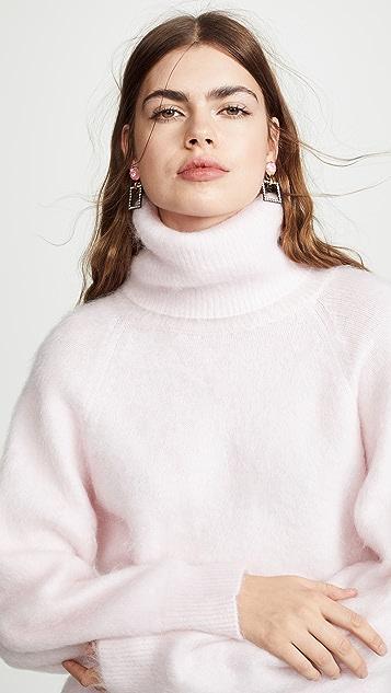 daf0a4a5cb8d Nina Ricci Mohair Turtleneck Sweater
