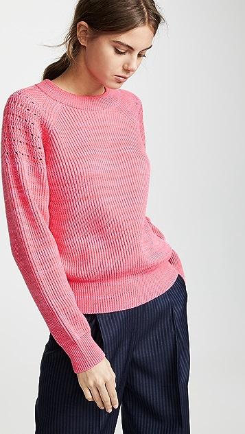 Nina Ricci Свитер объемной вязки