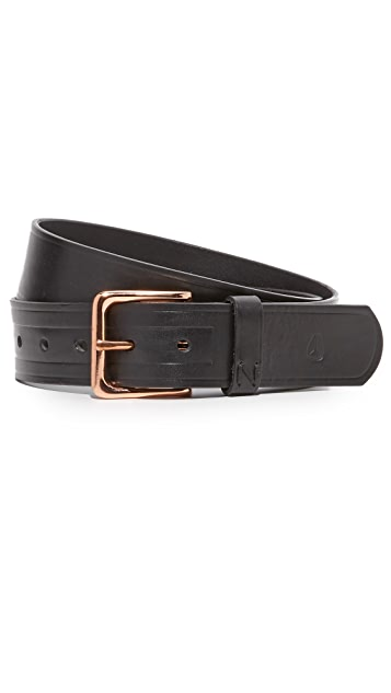 Nixon DNA Leather Belt