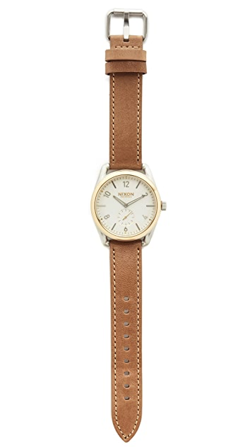 Nixon C39 Leather Watch