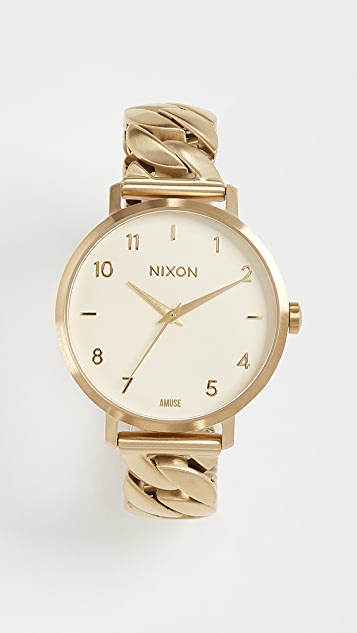 Nixon Arrow Chain Watch, 34mm