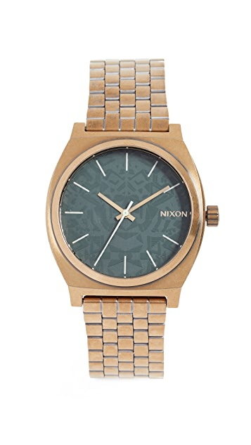 Nixon Time Teller Watch, 38mm