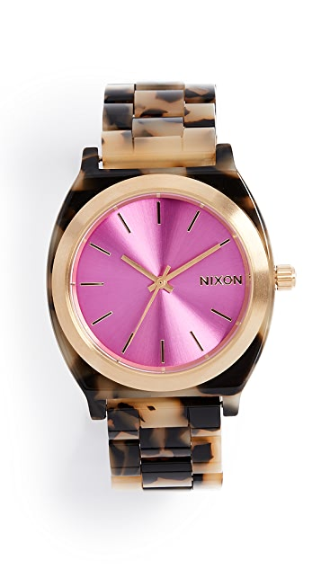 Nixon Time Teller Tort Watch, 38mm