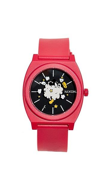 Nixon x Mickey Time Teller, 39mm