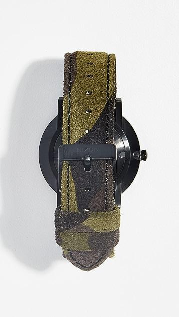 Nixon Porter Camo Volt Watch, 40mm