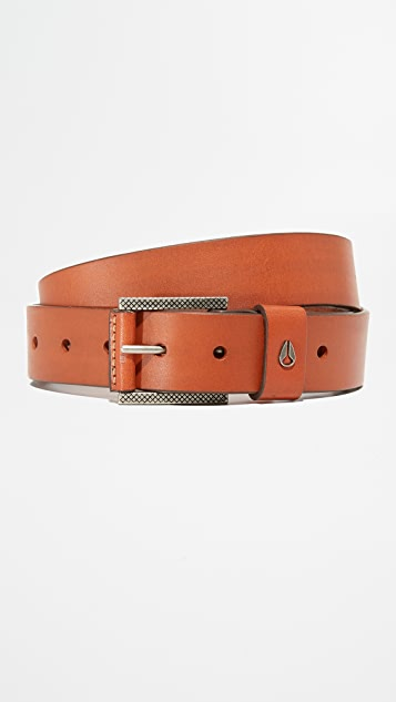 Nixon Americana Slim Leather Belt