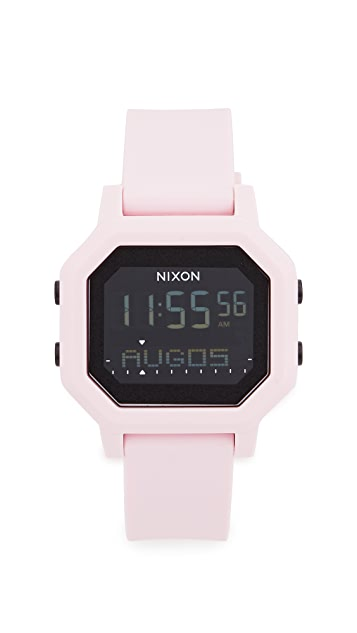 Nixon Часы Siren размером 38 мм