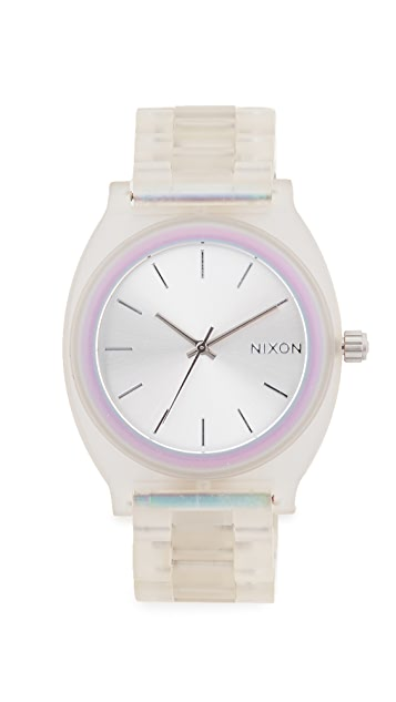 Nixon The Time Teller Acetate 40mm Watch