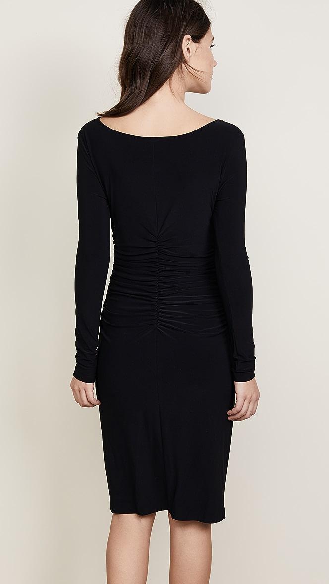 KAMALIKULTURE Womens Shirred Two-Piece Dress