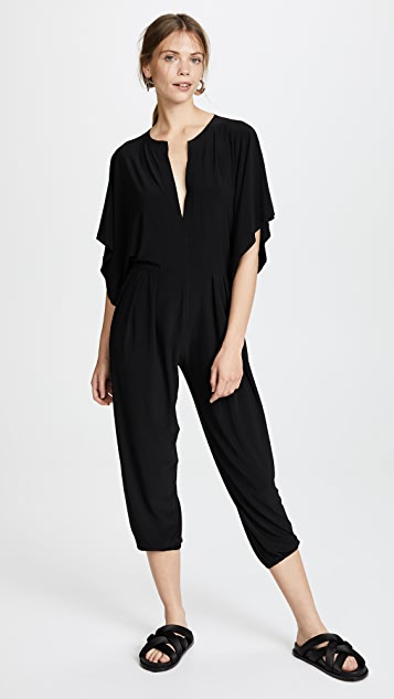 Norma Kamali Kamali Kulture Rectangle Jumpsuit