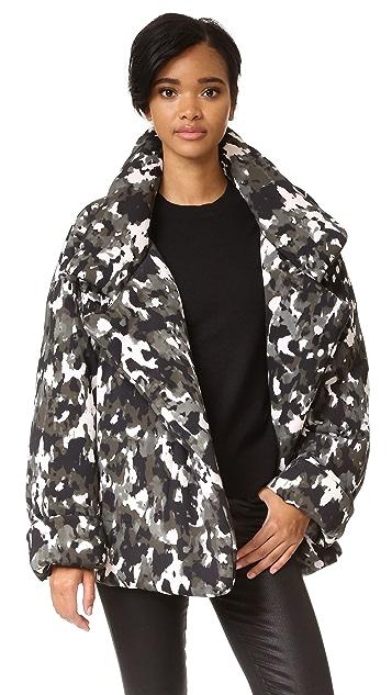 Sale Cheapest Sneakernews Online Camouflage-print sleeping bag coat Norma Kamali Cheap 2018 In China Sale Online PBg8qD