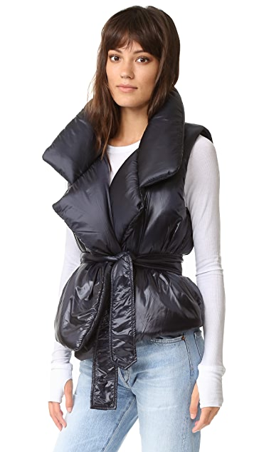 Norma Kamali Sleeping Bag Sleeveless Vest