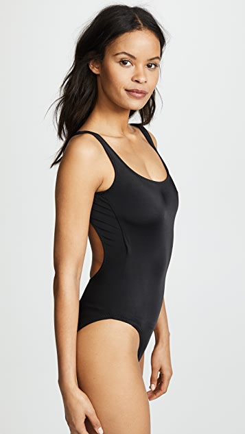Norma Kamali Super Low Back Mio Swimsuit