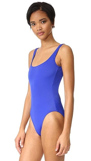 Norma Kamali Super Low Back Mio Swimsuit