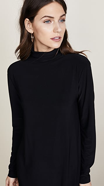 Norma Kamali Kamali Kulture Turtleneck Dress
