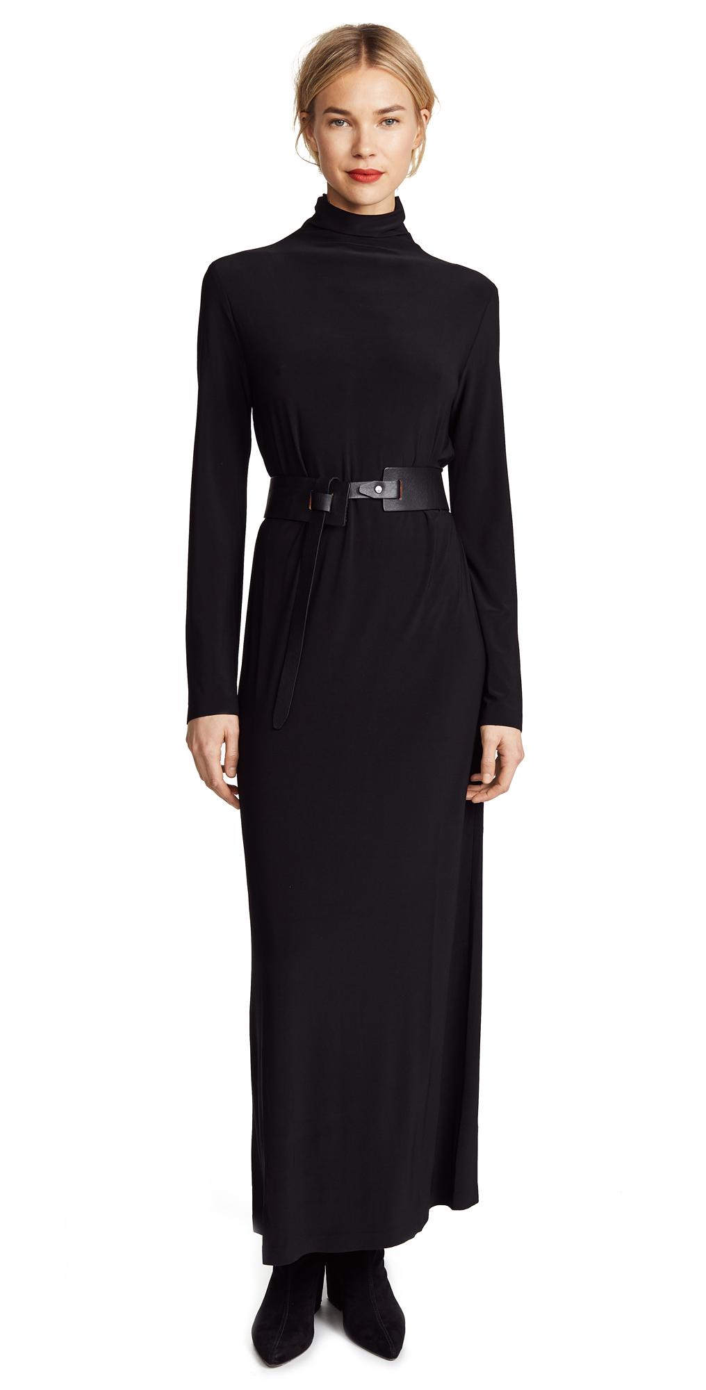 Norma Kamali Kamali Kulture Go Turtleneck Maxi Dress