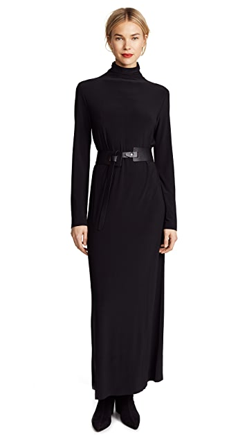 Norma Kamali Kamali Kulture Go Turtleneck Maxi Dress