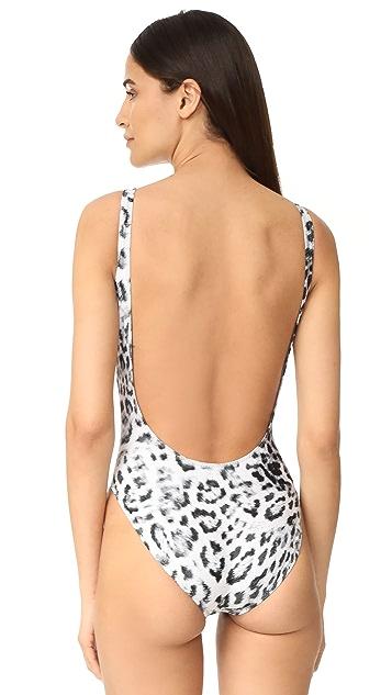 Norma Kamali Super Low Back Swimsuit