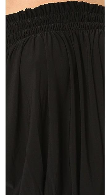 Norma Kamali Kamali Kulture Peasant Dress